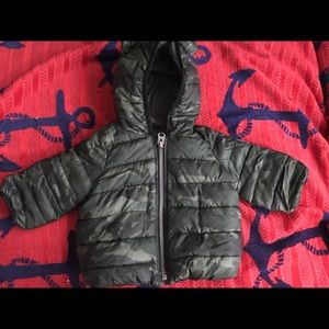 Camouflage Winter Coat ( water resistant)